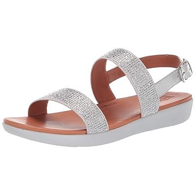 FitFlop Women's Barra Crystalled Sandal   Flip-Flops