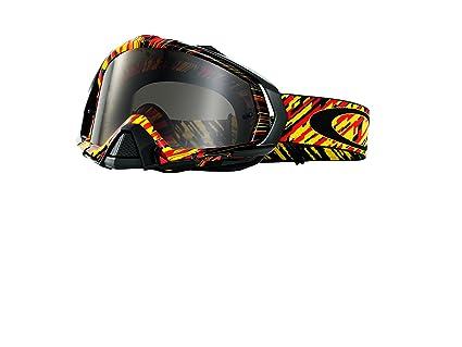 5fecc19da0 Amazon.com  Oakley OO7051-13 Mayhem Pro Rain of Terror Goggles ...