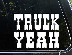 "Diamond Graphics Truck Yeah (9"" x 6"") Die Cut Decal Bumper Sticker for Windows, Cars, Trucks, Laptops, Etc."