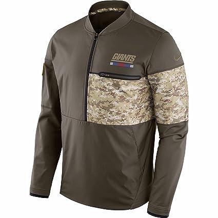 New York Giants NFL Salute to Service Sideline Men s Hybrid Jacket (Large) 742d9bbec