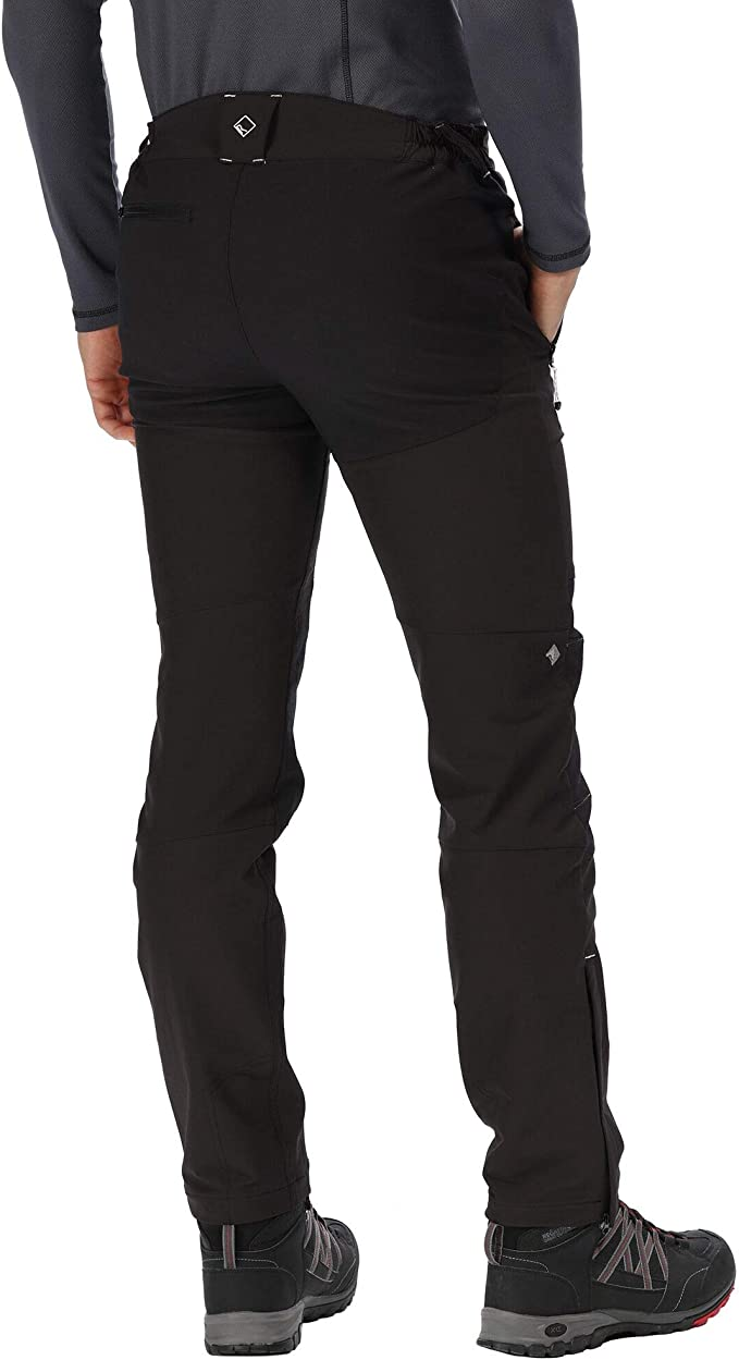 Regatta Womens Questra II Water Repellent Wind Resistant Stretch Softshell Walking Trousers Pantalones Mujer