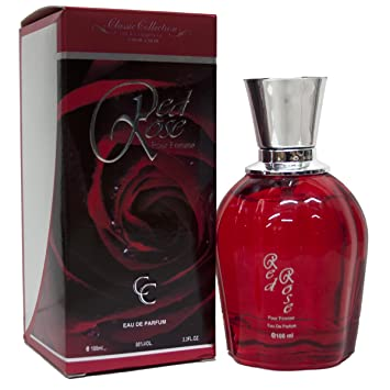Red Rose Amor Amor Perfume For Her 3.3 oz Eau de Parfum (Imitation)
