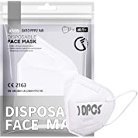 [10 PCS] F FiGoal 5-laags KN95 witte wegwerp gezichtsmaskers verbeterde filtratie universele unisex volwassen mondhoes…