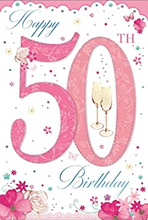 Age 50 Female Birthday Card