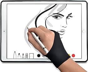 TFY Guante del Artista con 2 Dedos para Tabletas Graficas y Pantallas de Tablet - 1 Unidad