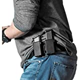 Alien Gear Cloak Mag Carrier Double Magazine Holster fits 9mm, 40, 45, 10mm, 380, carry as IWB magazine pouch or OWB mag carrier