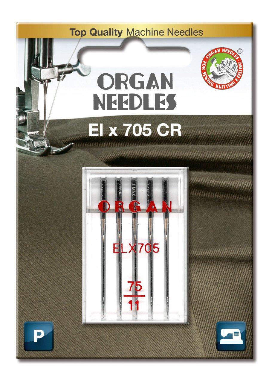 Organ Nadeln # 75//11/ELX 705/Overlock-Maschine X 5/Nadeln