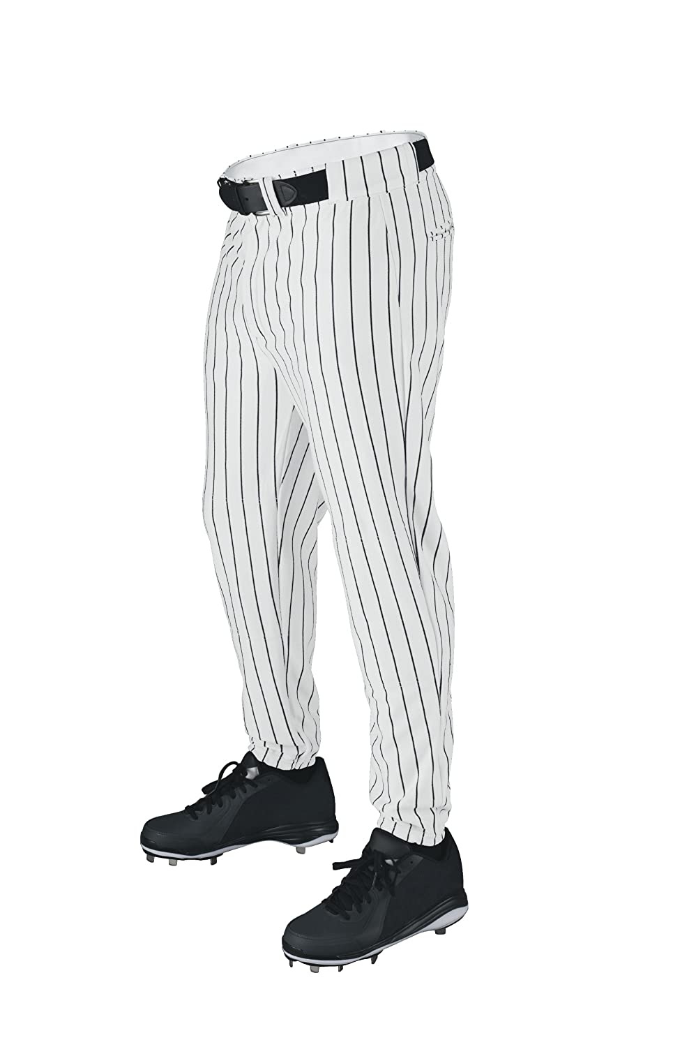 Wilson Sporting Goods Deluxe Adult Poly Warp Knit Pinstrip Baseball Pant