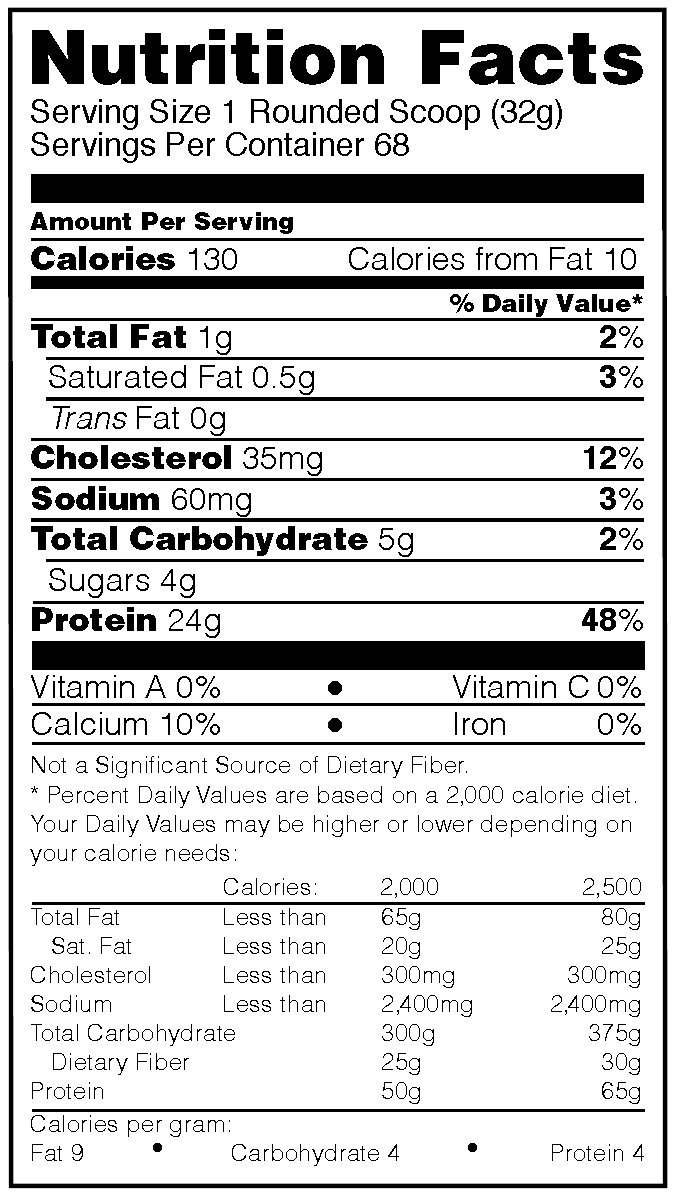 OPTIMUM NUTRITION GOLD STANDARD 100% Whey Protein Powder, Naturally Flavored, 4.8 Pound by Optimum Nutrition (Image #2)
