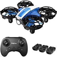 Holyton HS330 Hand Operated Mini Drone for Kids Beginners Adults -Remote Control Quadcopter with Altitude Hold, Throw to…