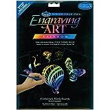 Royal & Langnickel Engraving Art Rainbow 8 x 10 inch Blank Board (Pack of 6)