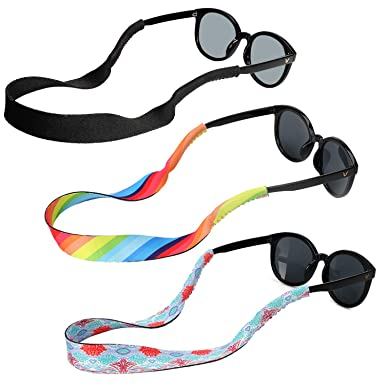 Hifot lunettes de soleil sangle 3 style, Flottante Chaînes et cordons à  lunettes, rapide beccaec65120