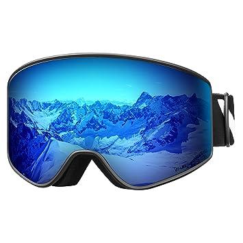 Amazon.com: VELAZZIO Gafas de esquí, Gafas de snowboard ...