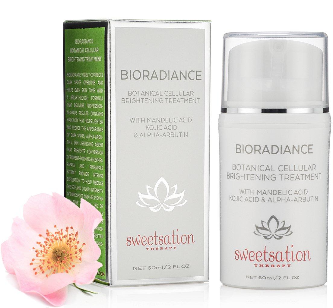 BioRadiance Botanical Cellular Brightening Treatment with Mandelic acid,  Kojic acid &