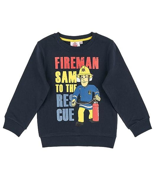 Sam el bombero Chicos Sudadera - Azul marino - 116