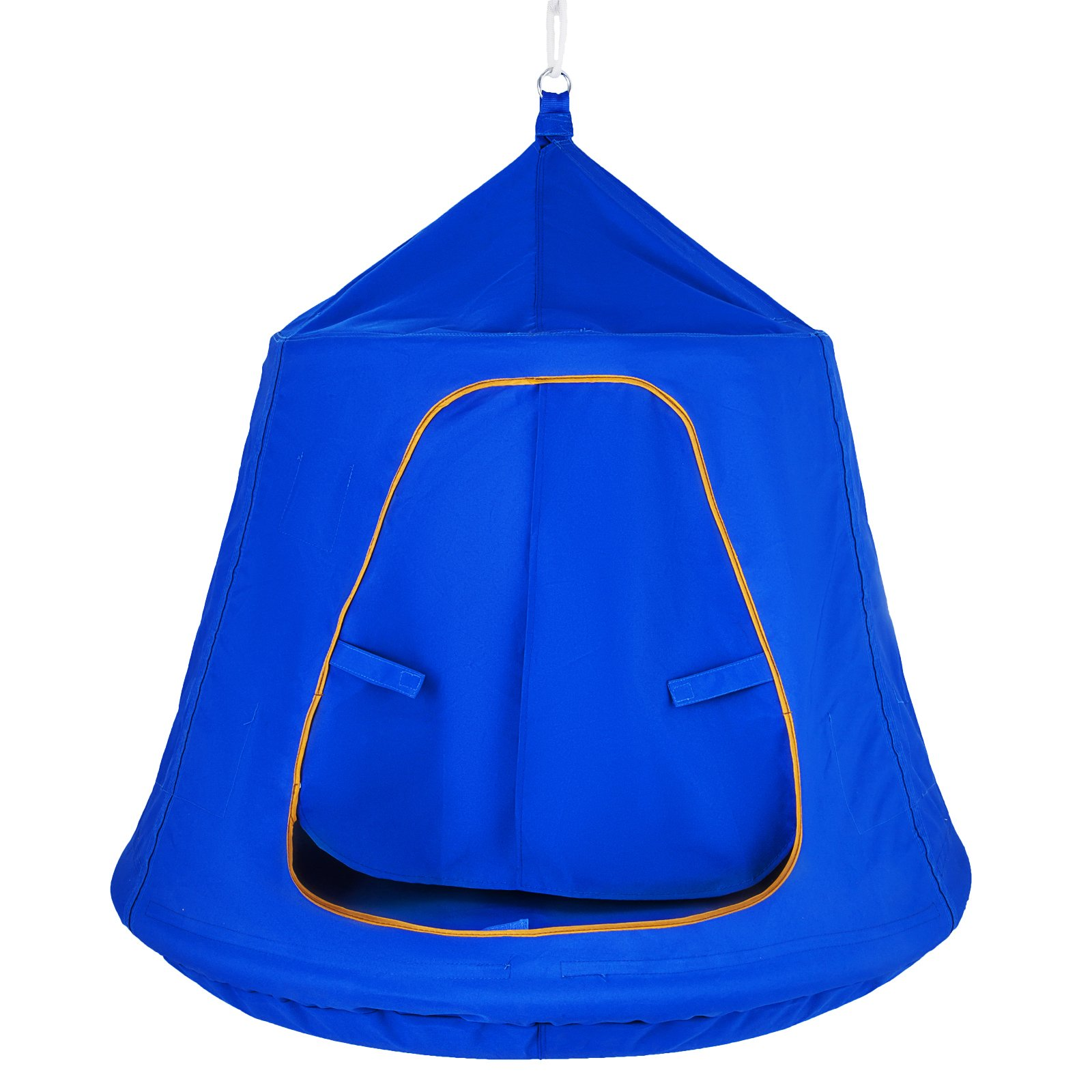 Mophorn Hanging Tree Tent 45 diam x 54 H Hanging Tent Swing Tent Waterproof Hanging Tree&Ceiling Hammock Tent Green Kids Outdoor Tents Playhouses (Blue) by Mophorn (Image #6)