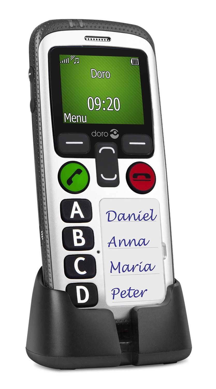 Doro Secure 580 - Teléfono móvil (128 x 160 Pixeles,...
