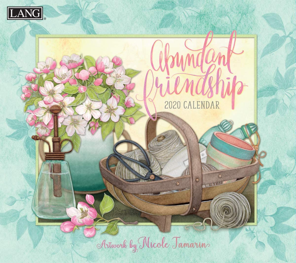 The LANG 20991001889 Abundant Friendship 2020 Wall Calendar (20991002005)