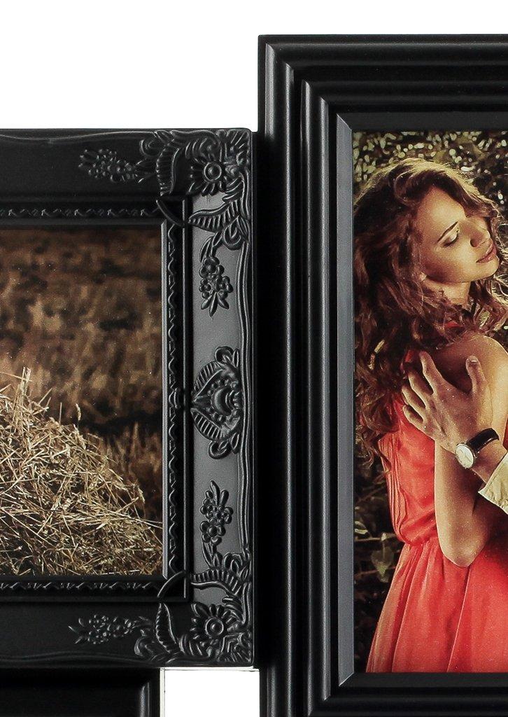 Amazon.de: levandeo Bilderrahmen - Schwarz für 18 Fotos 10x15 cm ...