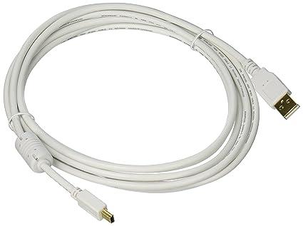 Monoprice 108635 304,8 cm USB 2,0 A Macho A Mini - B 5 Pin Macho ...