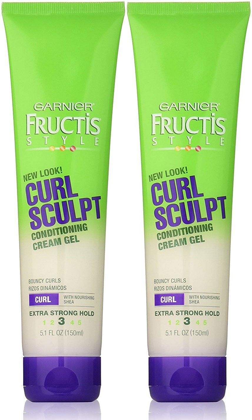 Garnier Fructis Curl Sculpting Cream Gel, Extra Strong Hold, 5 oz, 2 pk