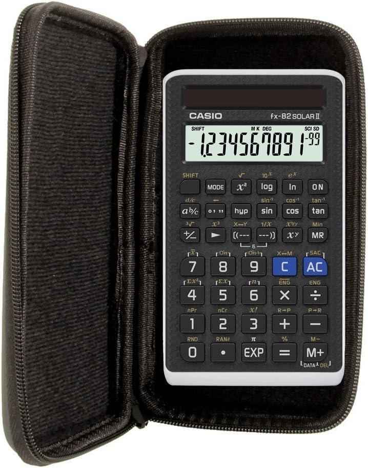 Schutztasche kompatibel mit Casio FX-82DE X in t/ürkis