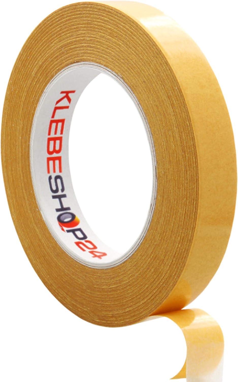 metal mano a la rotura bares etc.// Ancho w/ählbar doble cinta adhesiva para papel universal cinta adhesiva Cinta adhesiva doble cara cart/ón pl/ástico 50/m madera Stark /& adhesivo permanente
