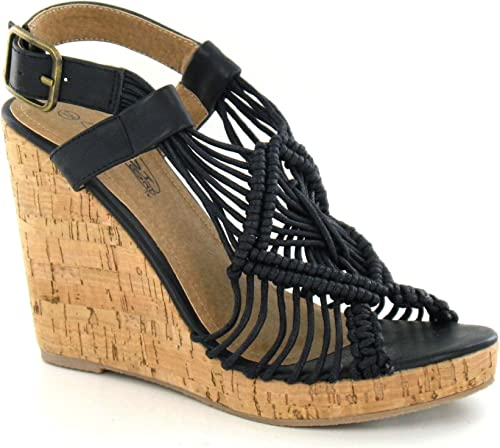 Ladies Spot On High Cork /'Wedge/'