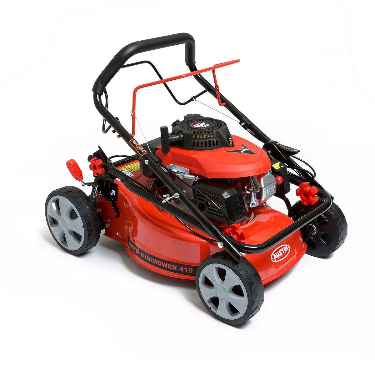 BMC Austin MiniMower 3HP 99cc - Cortacésped autopropulsado de 4 ...