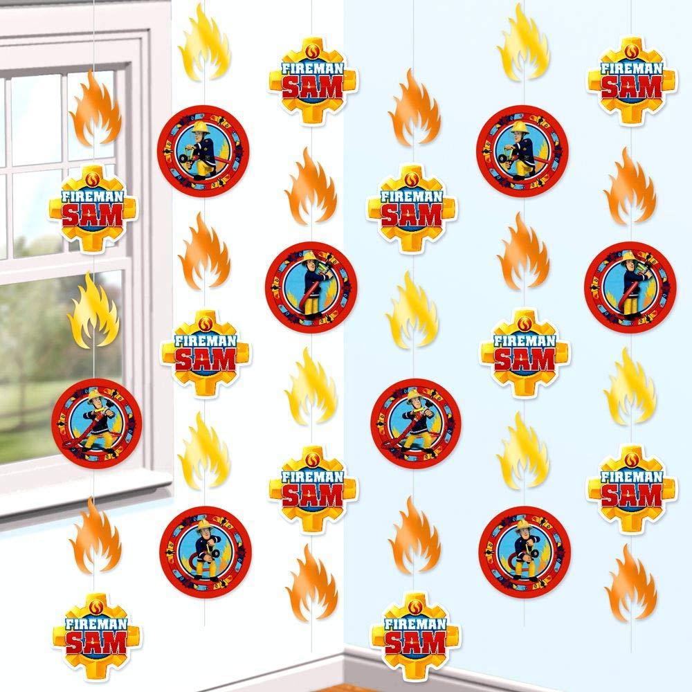 Sam El Bombero - Fireman Sam - Party - Adorno Colgante ...
