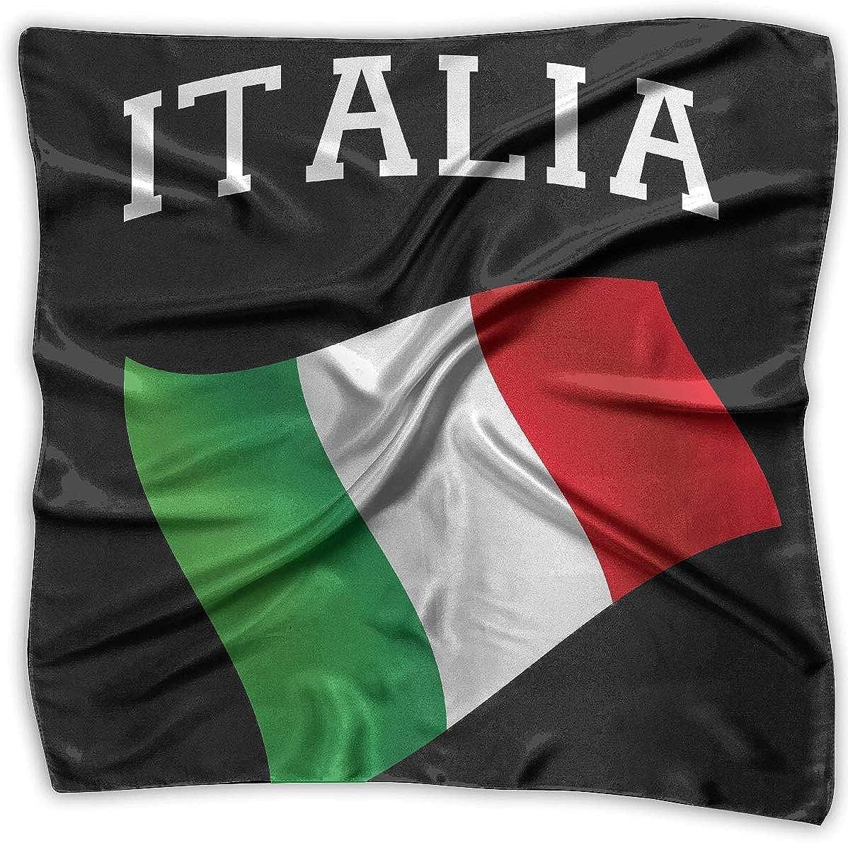 not applicable Italia Italia Bandera italiana Pañuelos cuadrados ...