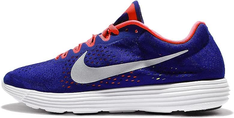 Nike Lunaracer 4, Zapatillas de Running para Hombre, (Concord/Metallic Silver-Bright Crimson), 44.5 EU: Amazon.es: Zapatos y complementos