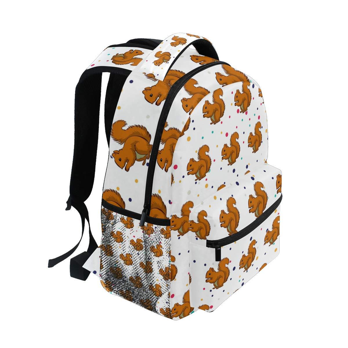 Amazon.com: Elegante mochila con diseño de ardilla – Bolsas ...