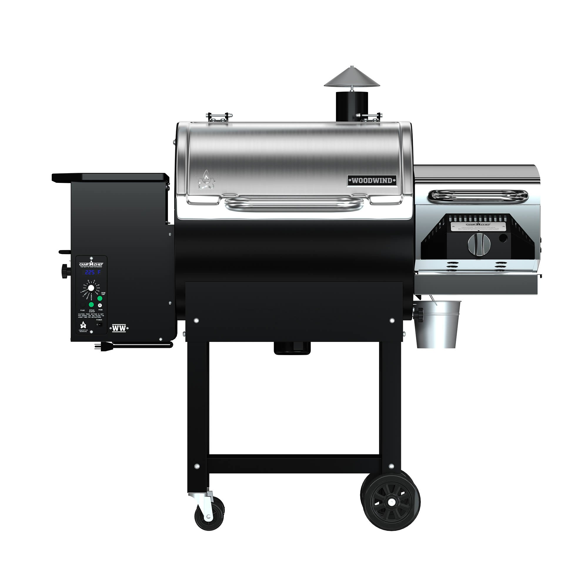 Camp Chef Woodwind Pellet Grill with Sear Box - Smart Smoke Technology - Ash Cleanout System by Camp Chef (Image #3)