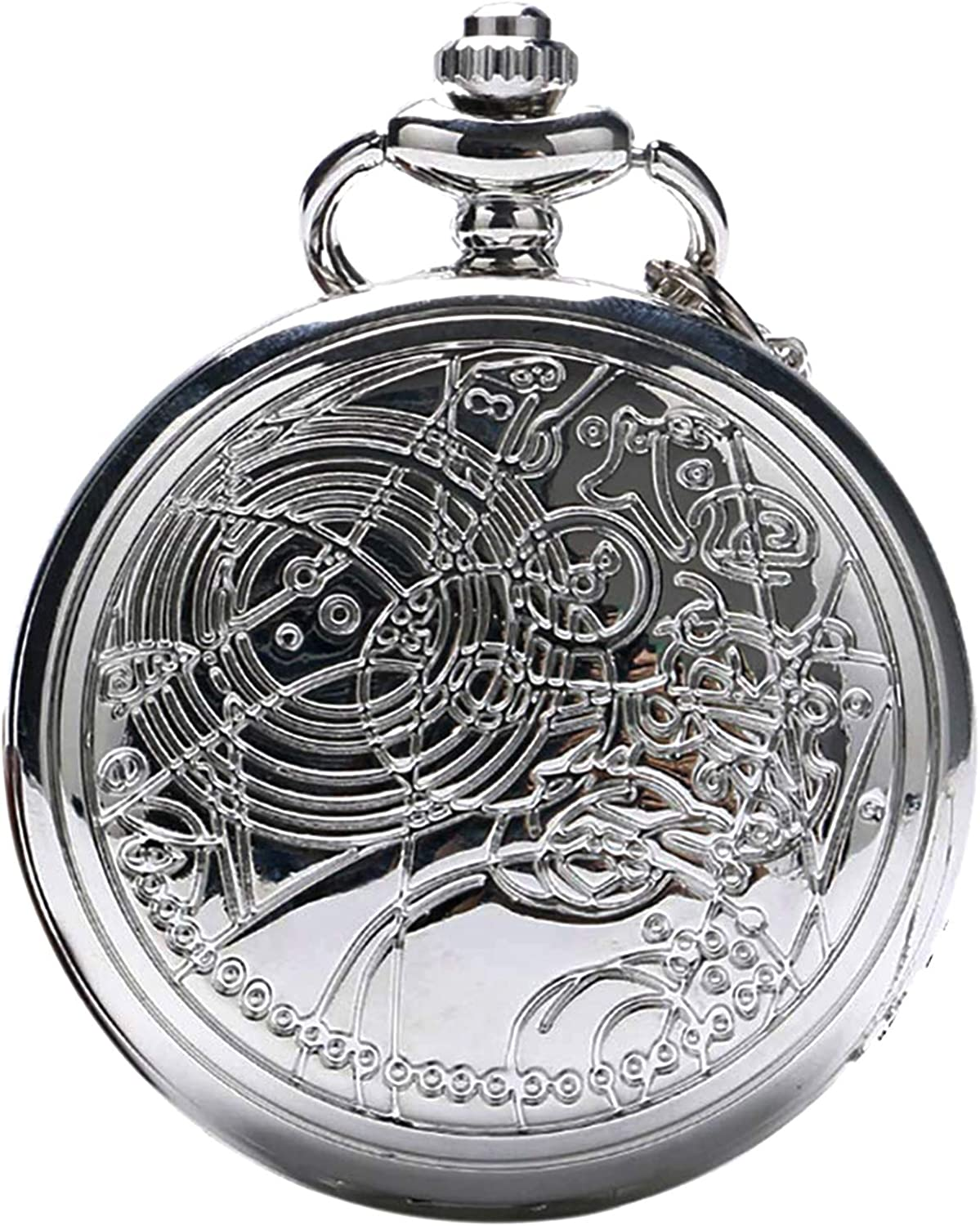 Vintage Doctor Who Retro Dr. Who Quartz Pocket Watch for Gifts