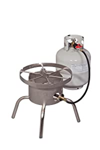 Camp Chef Stainless Single 60,000 Btu High Output Single Burner Stove