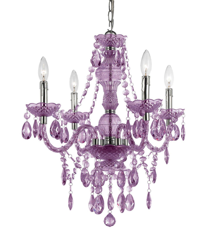 Af lighting 8353 4h naples four light mini chandelier light purple af lighting 8353 4h naples four light mini chandelier light purple crystal chandeliers amazon arubaitofo Image collections