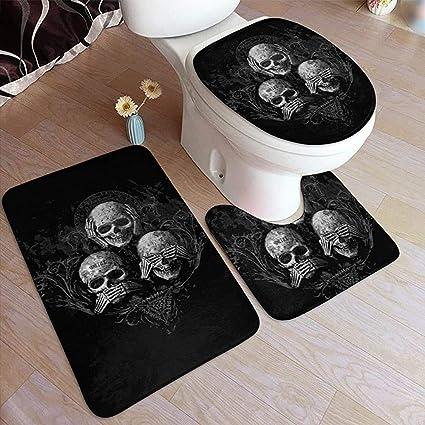 acheter tapis de bain tete de mort online 33