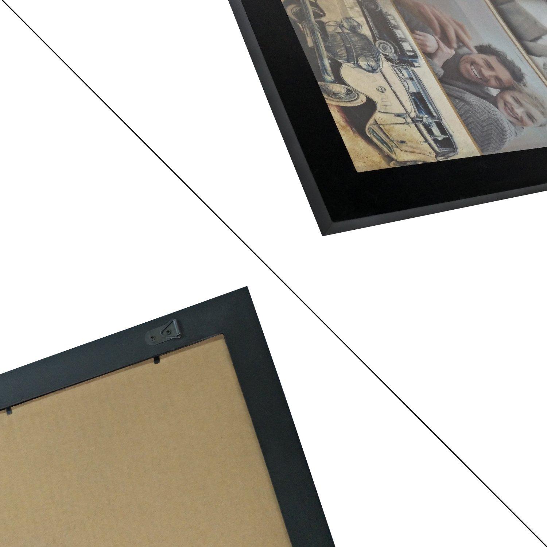 Amazon.de: Adeco [pf0382] 33 x 48, 3 cm schwarz Poster Rahmen ...