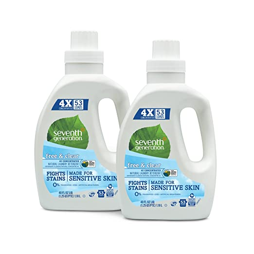 Seventh Generation Natural Laundry Detergent Review