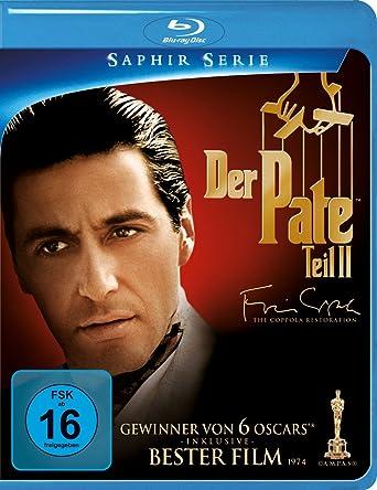 Der Pate 2 Blu Ray Amazonde Al Pacino Diane Keaton Robert