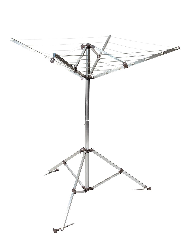 /Tendedero con 4/Brazos Aluminio Gris 18/x 105/x 105/cm Camp Gear 6415182/ca/