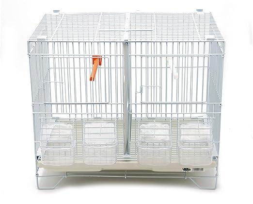 BPS Jaula de Incubación Jaula de Cría para Pájaros con Comedero ...
