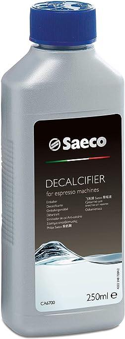 Saeco - Líquido antical para cafeteras (250 ml, 4 unidades): Amazon.es: Electrónica