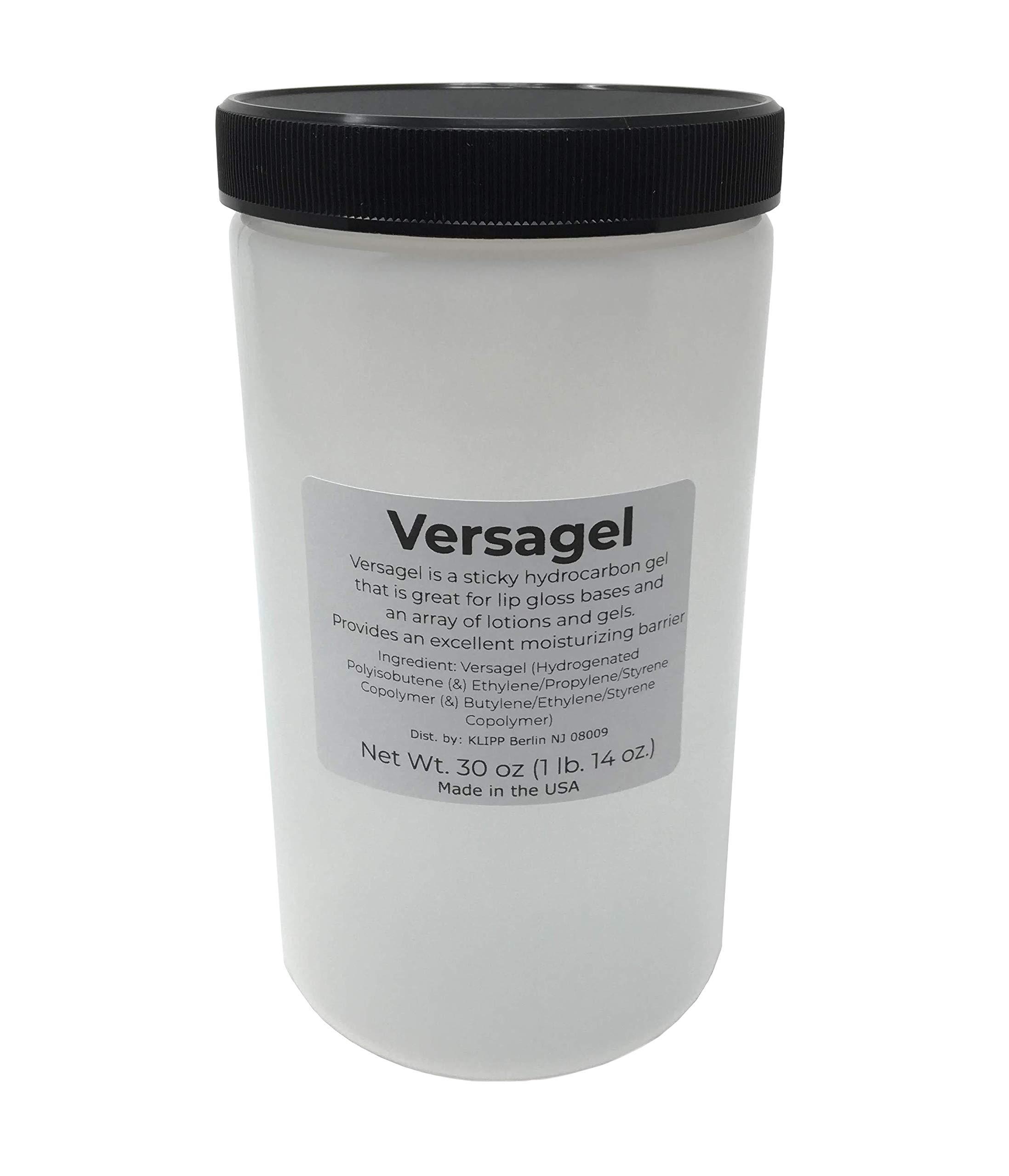 Versagel Lip Gloss Base (30 ounce (1lb 14oz) jar) by DIY Kit Creations.
