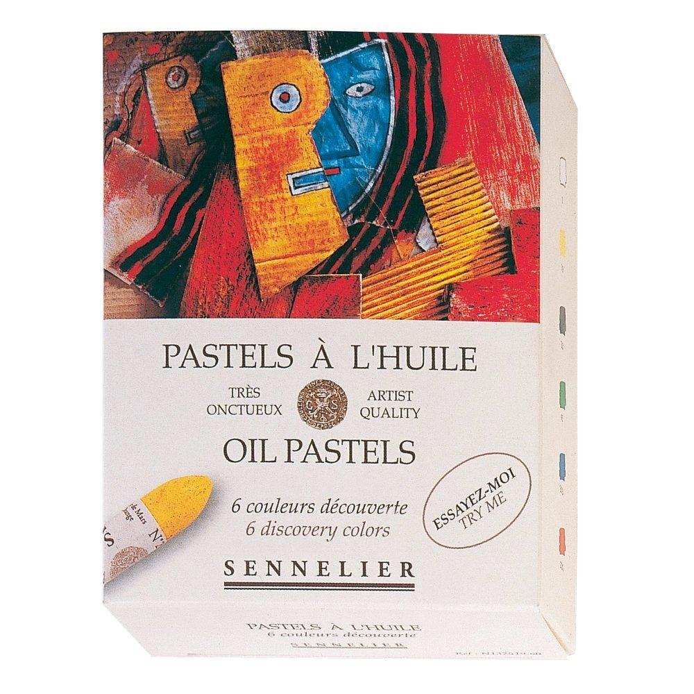 Sennelier olio pastello Discovery Set di 6 SAVOIR-FAIRE