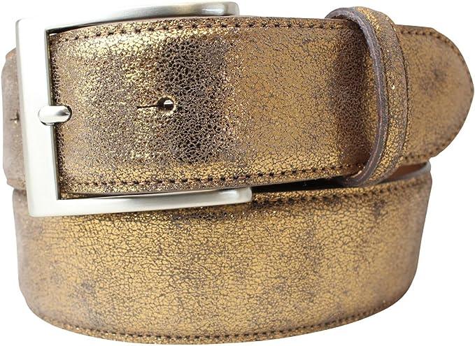 Hochwertige Echt Ledergürtel mit einer Breite von 4cm