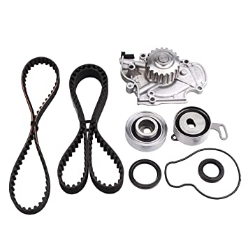 Auceramic Timing Belt Kit With Water Pump For 1990 1997 Honda Accord