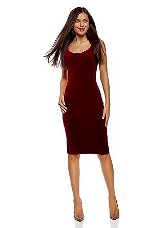 95ac25b6260a oodji Ultra Femme Robe Débardeur en Velours  Amazon.fr  Vêtements et  accessoires