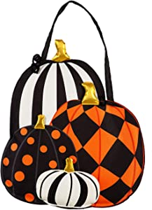 Evergreen Flag Beautiful Autumn Patterned Pumpkins Hanging Door Décor - 17 x 1 x 19 Inches Fade and Weather Resistant Outdoor Decoration for Homes, Yards and Gardens